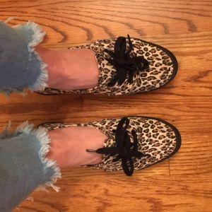 H&M leopard skippers